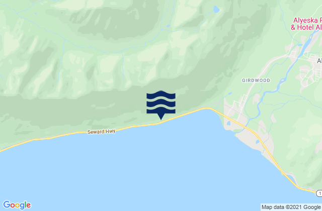 Jackson Cove, Glacier Island, Alaska Tide Station Location