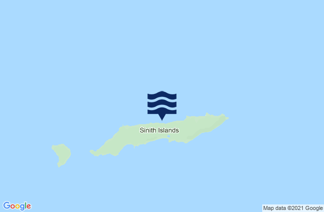 Dutch Harbor, Amaknak Island, Alaska Tide Station Location